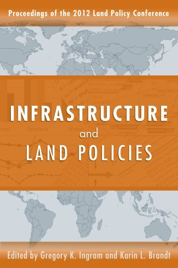 Infrastructure and Land Policies - Chapter 4 - Institute of Public Utilities