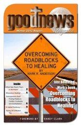 Magazine – Winter 2012 - Mark Anderson Ministries