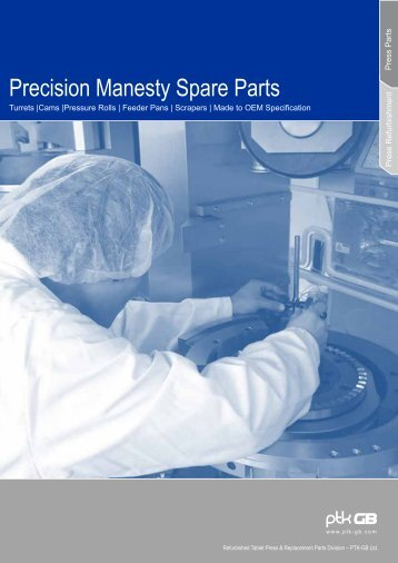 Download our spare parts and refurbishment brochure ... - PTK GB Ltd.