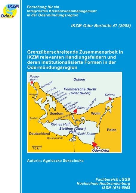 Grenzüberschreitende Zusammenarbeit in IKZM ... - IKZM-Oder