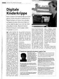 Die digitale Kinderkrippe & So wird das Internet ... - SchulArena.com