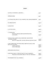 Storia della viticoltura camuna - Italia del Vino