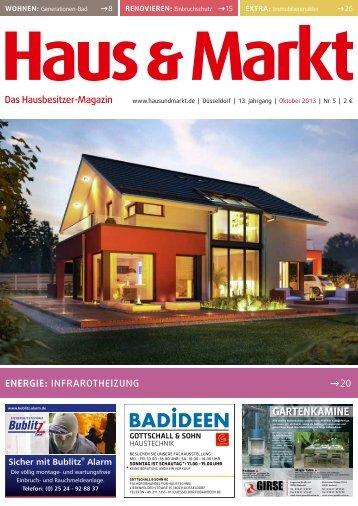 Ausgabe 5, Oktober 2013 - Haus & Markt