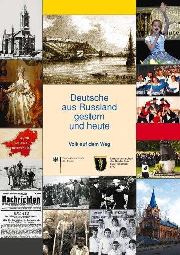 Deutsche aus Russland gestern und heute - Geschichte der ...