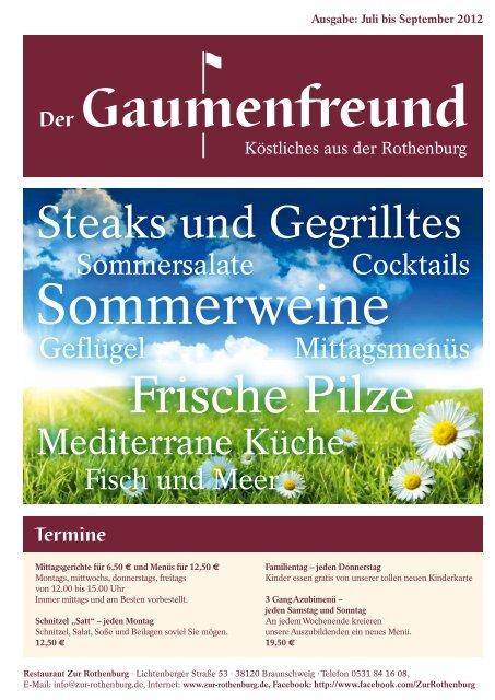 Gaumenfreund 3-2012 - Restaurant zur Rothenburg