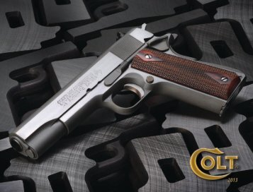 Colt catalogue - Frontier Arms