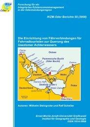 (Oder-) Haff Ostsee Pommersche Bucht - Küsten-Datenbanken ...