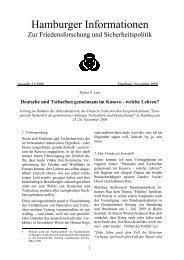 Deutsche und Tschechen gemeinsam im Kosovo - welche Lehren?