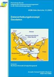 IKZM-Oder Berichte 12 - Küsten Union Deutschland