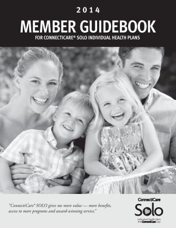 SOLO Member Guidebook - ConnectiCare
