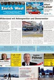 Widerstand mit Nebengewitter und Donnerwetter - Lokalinfo AG