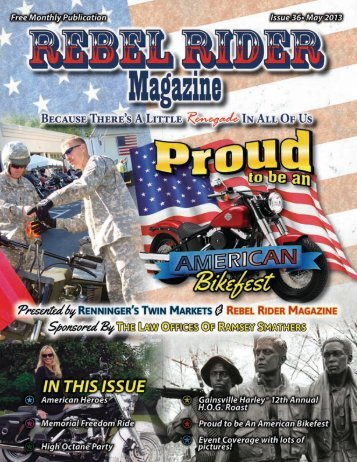 May 2013 - Rebel Rider Magazine, Inc.