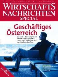 Ausgabe 12/2013 Wirtschaftsnachrichten Special: Die Geschäftsreise
