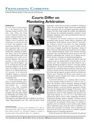 Courts Differ on Mandating Arbitration - DLA Piper