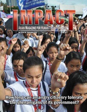 Php 70.00 Vol. 47 No. 09 • September 2013 - IMPACT Magazine ...