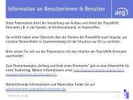 Die PraxisHilfe Ehrenamt - ehrenamt - evangelisch - engagiert