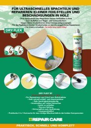 DRY FLEX® SF - Repair Care