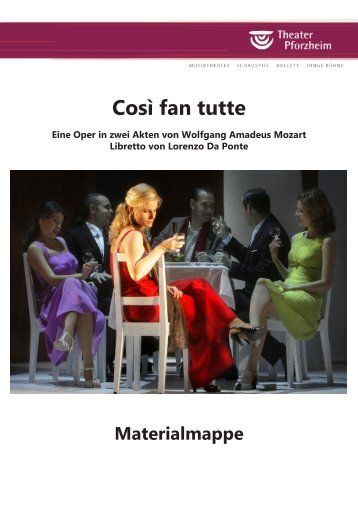 """Così fan tutte"" als .pdf downloaden - Theater Pforzheim"