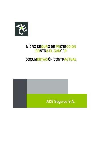 Condiciones Generales Microseguro Cancer - ACE Group