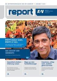 AGV-Report 1/2013