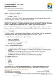 Code of Conduct for Staff.pdf - Townsville City Council