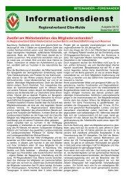 Regionalverband Elbe-Mulde - Volkssolidarität Bundesverband e.V.