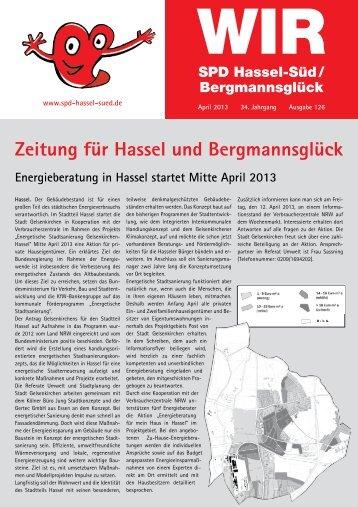 WIR #126 - SPD-Ortsverein Hassel-Süd