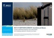 BEST OF NORTHERN GERMANY: Investieren am Wasser.