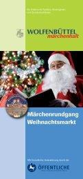 Broschüre - Weihnachtsmarkt Wolfenbüttel