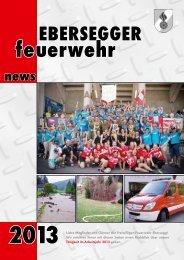 Ebersegger News 2013 - Freiwillige Feuerwehr Ebersegg