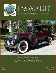 Spirit Magazine FALL 2011 - Spirit of St Louis Region - CCCA