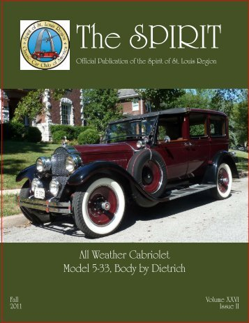 Spirit Magazine FALL 2011 - Spirit of St Louis Region - CCCA