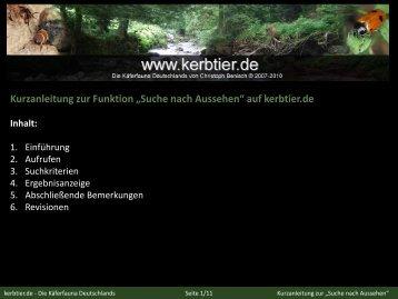 Handbuch - kerbtier.de