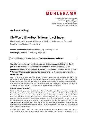 Die Wurst. Eine Geschichte mit zwei Enden - Mühlerama