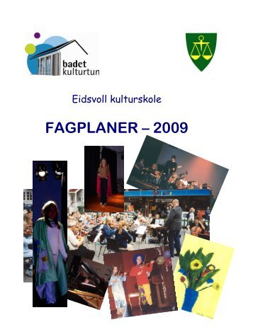 FAGPLANER – 2009