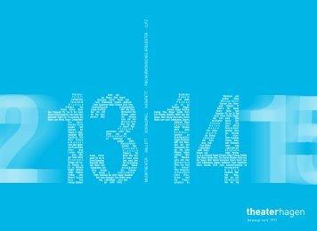 Spielzeitheft [Download: PDF 9,7 MB] - Theater Hagen