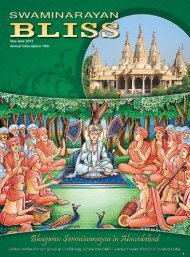 May-June 2013 Annual Subscription `80/- - Baps.org