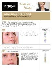 natürliches make-up für den alltag - L'Oréal Paris lounge