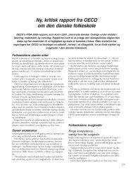 Ny, kritisk rapport fra OECD om den danske folkeskole - Friskolebladet