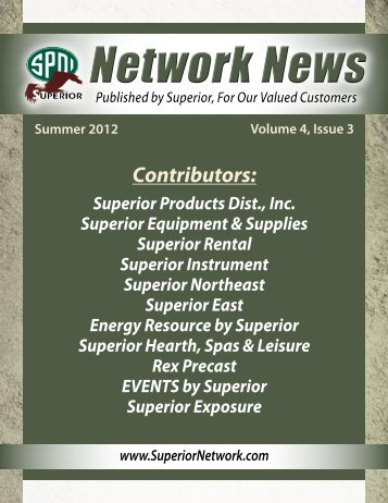 3rd Quarter 2012 - Superior Network of Companies