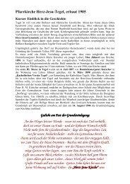 Chronik S.1-4 Stand Juni 13 - Katholische Kirchengemeinde Herz ...