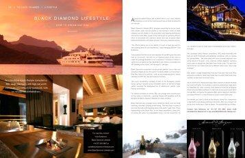 Private Islands Magazine - Black Diamond Lifestyle