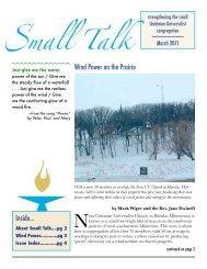Wind Power on the Prairie - Spirit of Life Publishing