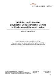 Leitlinien zur Prävention physischer und psychischer Gewalt in ...
