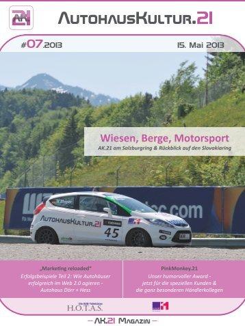 Ausgabe 07.2013 - Klartextdesign