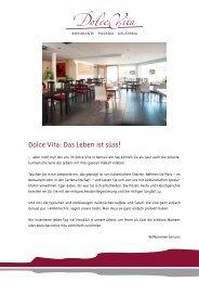 Gestaltung und Umsetzung - La Dolce Vita, Beinwil am See