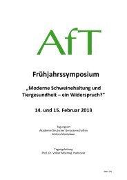zum download - Die Akademie für Tiergesundheit eV