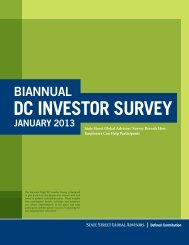 DC investor survey - RetirementMadeSimpler.org