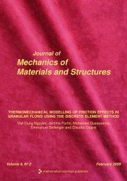 Thermomechanical modelling of friction effects in granular flows - MSP