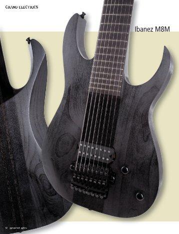 Ibanez M8M Meshuggah - MUSIC STORE professional
